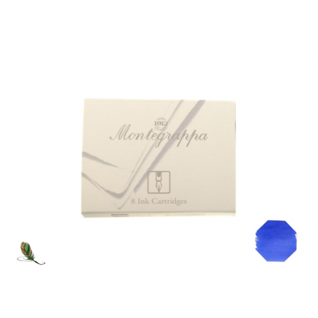 Cartuchos de tinta Montegrappa Azul