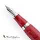 Pluma Estilográfica Montegrappa Sophia Loren Rojo plumín