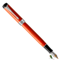 Pluma Estilográfica Parker Duofold Classic Red Vintage CT International