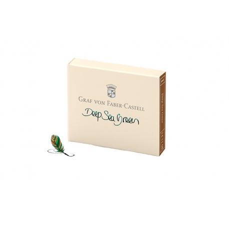 Cartuchos de tinta Graf von Faber-Castell Deep Sea Green