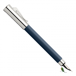 Pluma Estilográfica Graf von Faber-Castell Tamitio Azul Noche