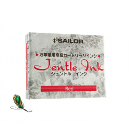 Cartuchos de tinta Sailor Jentle Rojo