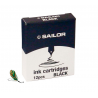Cartuchos de tinta Sailor Black