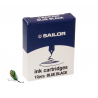 Cartuchos de tinta Sailor Blue Black