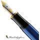 Pluma Estilográfica Pelikan Souverän M600 Negro-azul