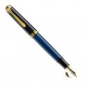 Pluma Estilográfica Pelikan Souverän M800 Negro-azul