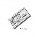 Cartuchos de tinta pigmentada Platinum Negro