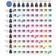 Kit mezclador de tintas Platinum carta de colores