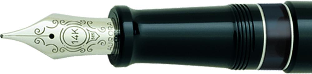 Plumín Aurora 88 Negro/cromo 800-C big