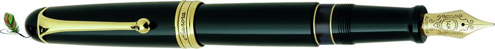 Estilográfica Aurora 88 negro-oro 800 big