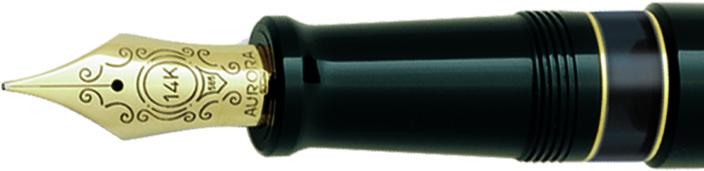 Plumín Aurora 88 negro-oro 800 big