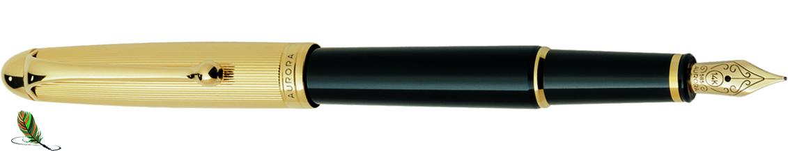 Estilográfica Aurora 88 Oro/negro 811