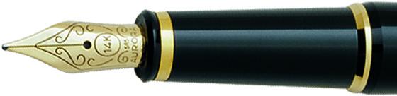 Plumín Aurora 88 Plata/negro 814