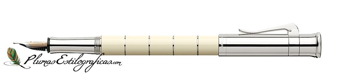 Estilográfica Graf von Faber-Castell Classic Anello Marfil 145670
