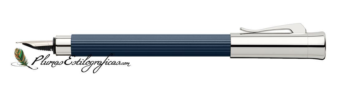 Estilográfica Graf von Faber-Castell Tamitio Azul Noche 141710