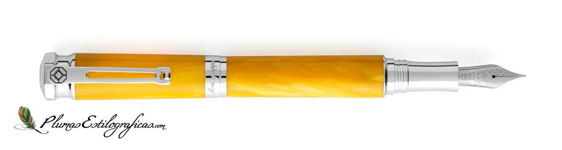 Estilográfica Montegrappa Emozione Yellow