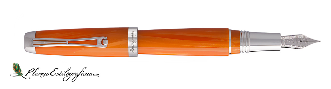 Estilográfica Montegrappa Passione Orange