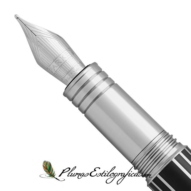 Estilográfica Parker Premier Luxury Black plumín