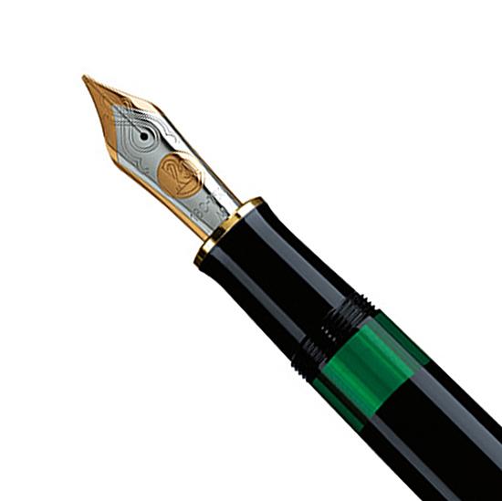plumín Pelikan Souveraen M 1000 Negro
