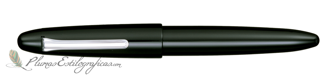 Estilográfica Sailor King of Pens Black Ebonite Silver 11-9704-420