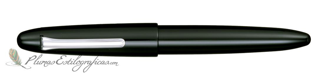 Estilográfica Sailor King of Pens Black Ebonite Silver 11-9704-420