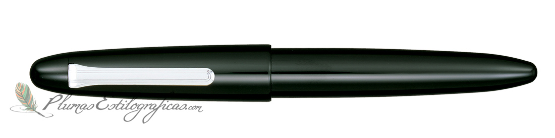Estilográfica Sailor King of Pens Urushi Black Silver 10-8160-420