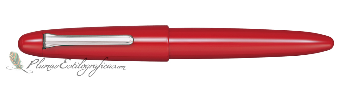 Estilográfica Sailor King of Pens Urushi Crimson Red Silver 10-8160-430