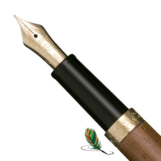 Plumín de la estilográfica Sailor Precious Wood Ironwood Tagayasan