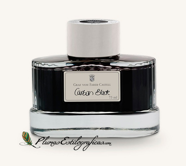 Tinta Graf von Faber-Castell Carbon Black 141000