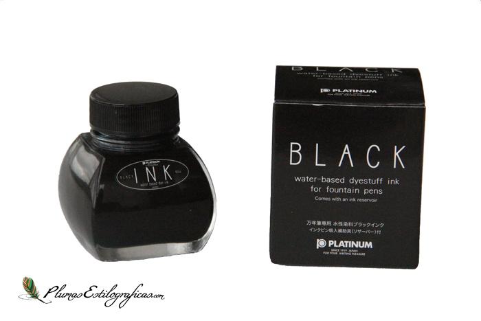 Tintero Platinum base colorante Black con caja