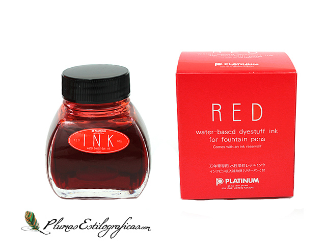 Tinta base colorante Platinum Red