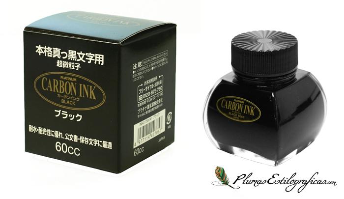 Tinta Pigmentada Platinum Carbon Ink