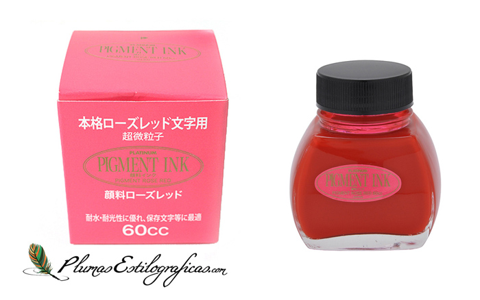 Tinta Pigmentada Platinum Rose-red