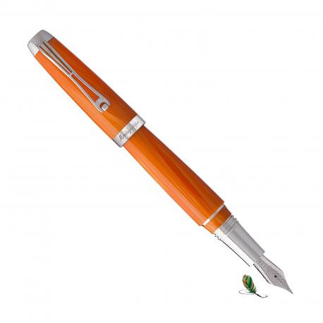Pluma Estilográfica Montegrappa Passione Orange