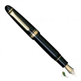 Pluma Estilográfica Sailor King of Pens ST Resin Gold