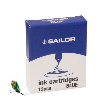 Cartuchos de tinta Sailor Blue
