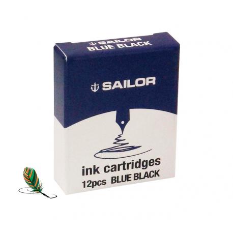 Cartuchos de tinta Sailor Blue Black
