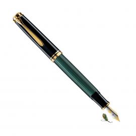 Pluma Estilográfica Pelikan Souverän M600 Negro-verde
